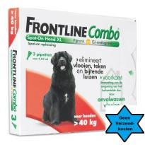 Frontline Hond Combo XL 3 pipet