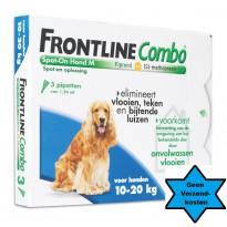 Frontline Hond Combo M  3 pipet