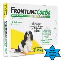 Frontline Hond Combo S  3 pipet
